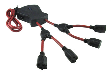 6 Outlet Spider Cord