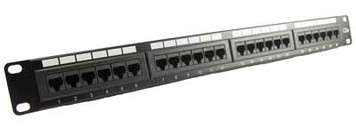 24 port cat5e patch panel