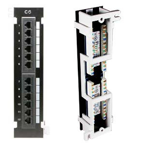 12 port cat6 patch panel