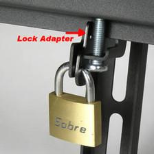 lock on tilting monitor mount
