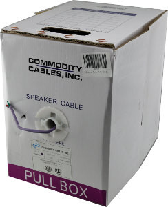 speaker cable 16/2 500'