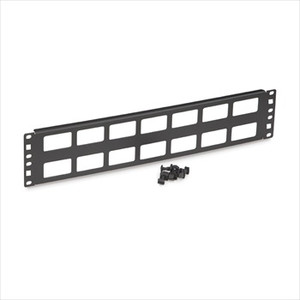 2U Cable Routing Blank