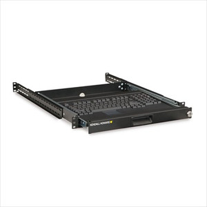 1U 4 Post Sliding Keyboard Tray