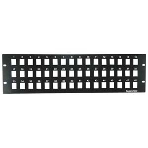 48 Port Blank Patch Panel