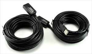 50' Active USB Extension