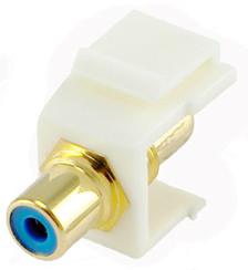 RCA Blue Insert White