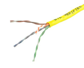 Yellow Cat5e PVC