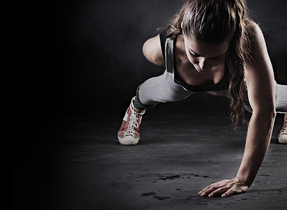 one handed pushup