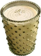 Stem Hobnail Candle
