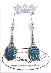 California Beach Drusy Earrings by Sarda
