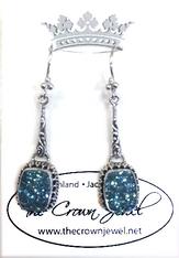 California Beach Drusy Earrings by Sarda