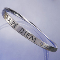 Carpe Diem Mobius Bracelet