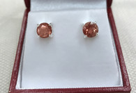 6mm Oregon Sunstone Post Errings