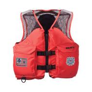 Mesh Deluxe Vest w/ USCG Markings