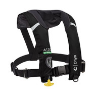 A-33 In-Sight Automatic Inflatable Life Jacket, Black