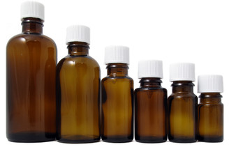 AMBER ESSENTIAL OIL BOTTLE (Per Dozen)