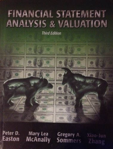 financial statement valuation of continental and Business analysis & valuation: using financial statements, text & cases, 5e is a financial statement analysis and valuation text featuring a four-part financial statement analysis framework applied in the context of business decisions.