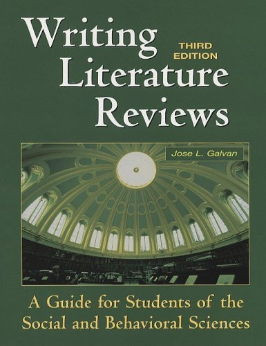 Writing Literature Reviews by Jose L Galvan - American Book Warehouse