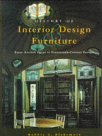 History of interior design and furniture by robbie g blakemore isbn 9780471464334 0471464333 for History of interior design book
