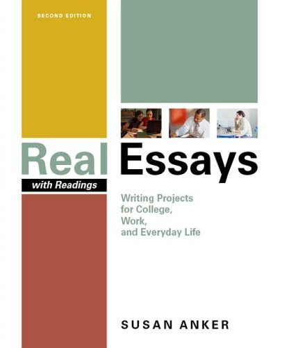 real essays book online