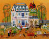 OLD TYME GENERAL STORE FARM MARKET GICLEE PRINT