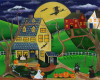 Halloween Custom Acrylic painting