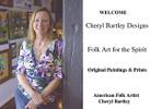 Folk Art Spirit Cheryl Bartley