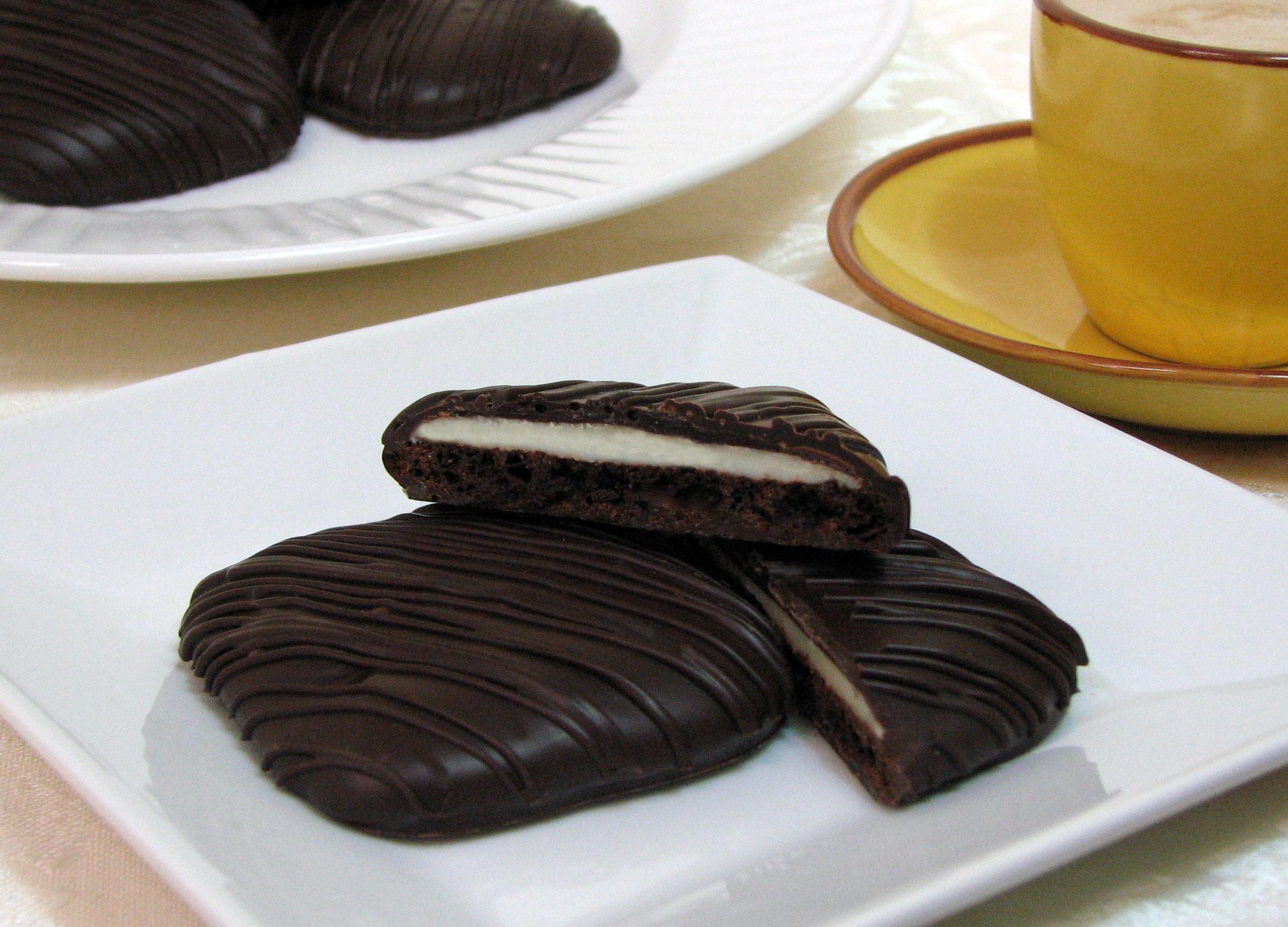 Gluten Free Chocolate Mint Cookies
