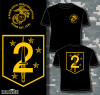 2nd Marine Security Ops Battalion T-shirt