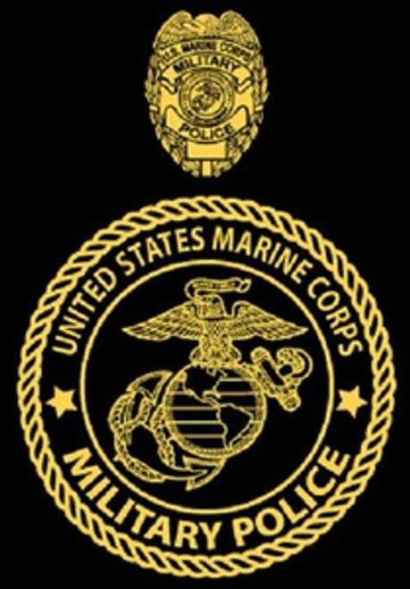 Marine Corps Military Police Long Sleeve T- Shirt