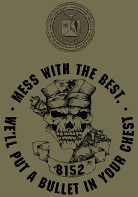 Marine Corps Security Force School USMC T-shirt
