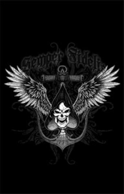 Ace of Spades death card Long Sleeve T- Shirt