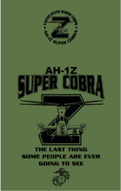 AH-1Z Cobra helicopter T-shirt