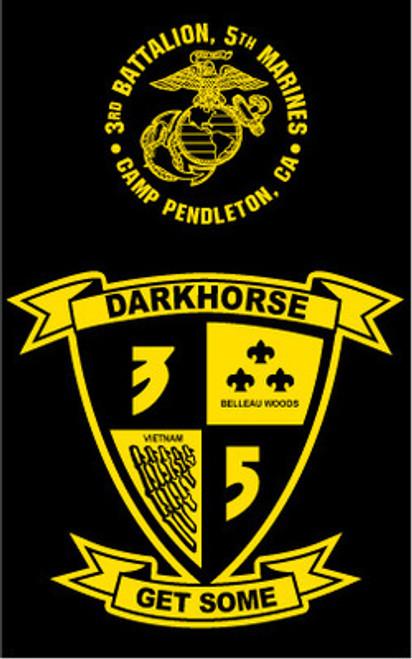 3rd Battalion, 5th Marines T-shirt