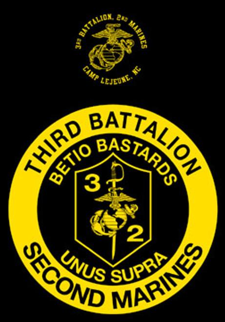 3rd Battalion, 2nd Marines Crewneck Sweatshirt
