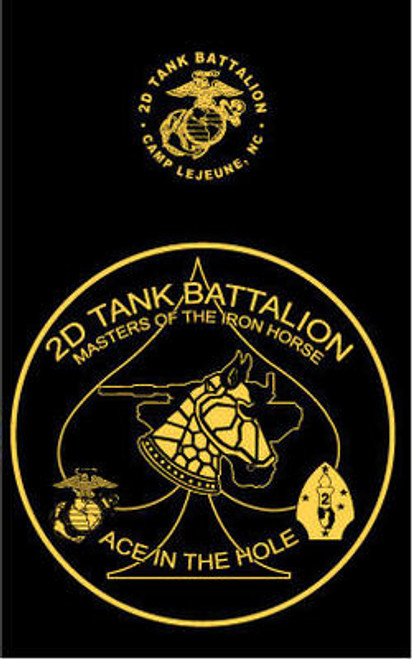 2nd Tank Battalion Long Sleeve T- Shirt
