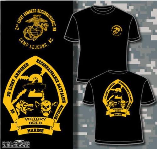 2nd Light Armored Reconnaissance Battalion Hood