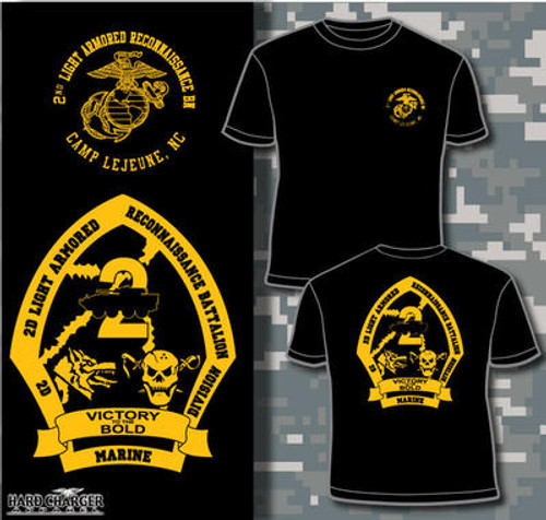 2nd Light Armored Reconnaissance Battalion Long Sleeve T- Shirt