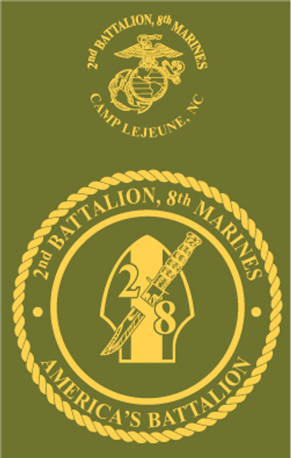 2nd Battalion, 8th Marines Long Sleeve T- Shirt