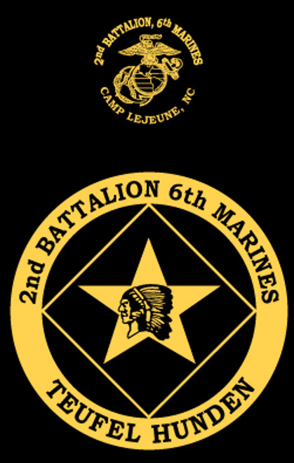 2nd Battalion, 6th Marines Long Sleeve T- Shirt