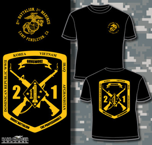 2nd Battalion 1st Marines T-shirt