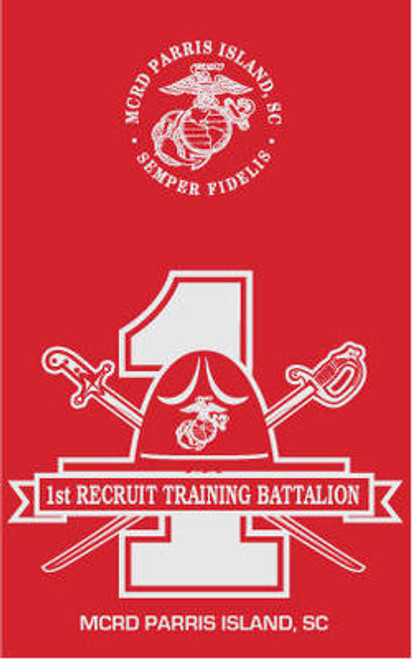 1st Recruit Training Battalion - PI Long Sleeve T-Shirt