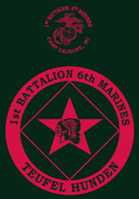 1st Battalion, 6th Marines Long Sleeve T-Shirt