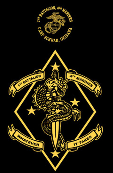 1st Battalion, 4th Marines Hood