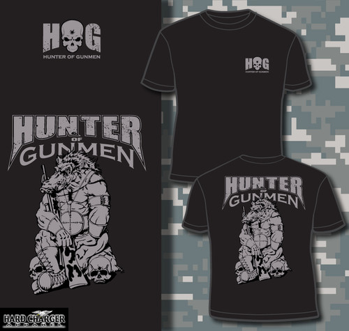 Sniper Hunter of Gunmen T-shirt