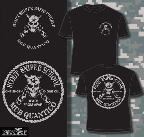 Marine Corps Scout Sniper School Quantico, VA 1 T-shirt