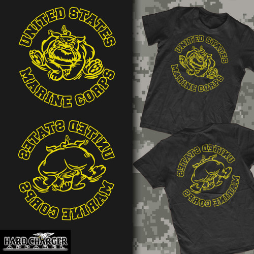 Marine Corps Bulldog Old Corps Crewneck Sweatshirt