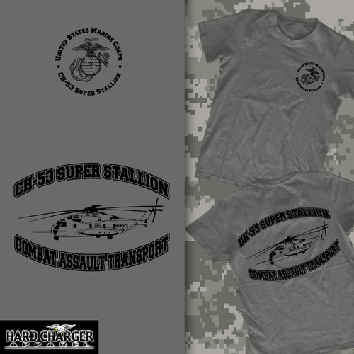 CH 53 Super Stallion Helicopter Crewneck Sweatshirt