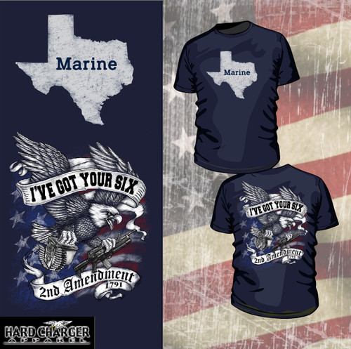 Texas Marine - 2nd Amendment Long Sleeve T-shirt