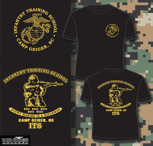Infantry Training School - Camp Geiger, NC T-shirt